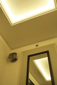 Salon - oświetlenie sufitu