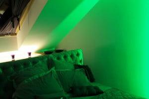 Sypialnia - oświetlenie RGB