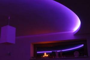 Oświetlenie sufitowe - RGB