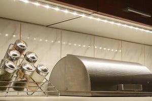 Oświetlenie LED blatu kuchennego