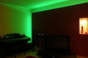 Oświetlenie ściany - RGB