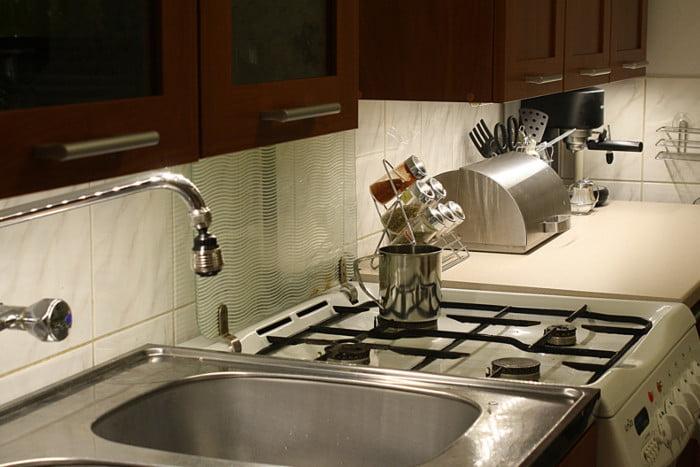 Oświetlenie LED - blat kuchenny
