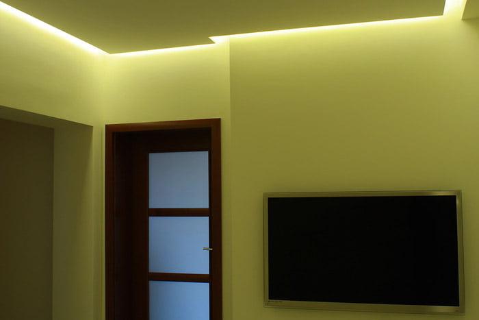 Salon Oświetlenie Sufitu