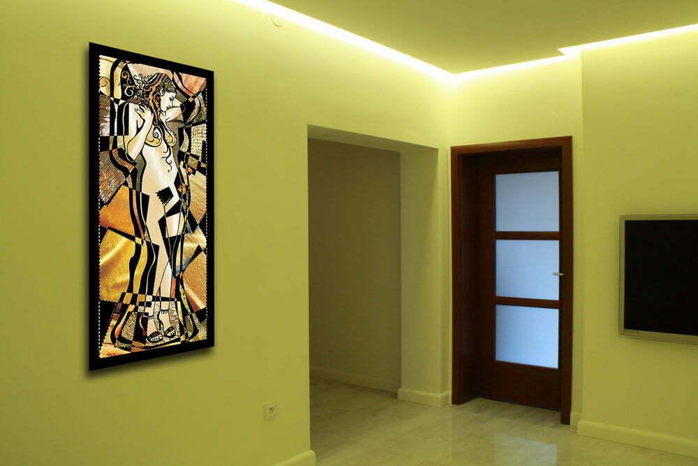 Salon Oświetlenie Sufitu Neowitraż